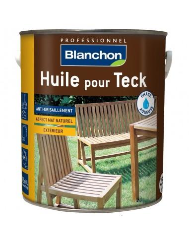 Huile pour Teck phase aqueuse - Blanchon