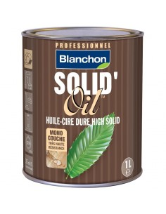Solid Oil White Grey - Blanchon